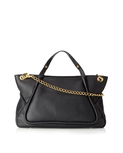 Lena Erziak Women's Calfskin Top Handle Tote  [Black]