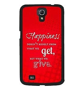 Fuson 2D Printed Quotes Designer back case cover for Samsung Galaxy Mega 6.3 I9200 - D4541