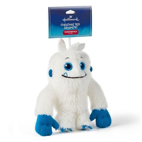 Polariffic Pals Abominable Snowman Plush Christmas Ornament