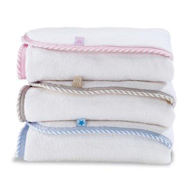 Izziwotnot Snuggle Baby Towel/Cuddle Robe, Heart, Rose
