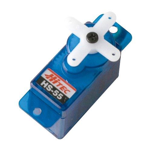 Hitec 31055S HS-55 Economy Sub Micro Universal Servo - 1