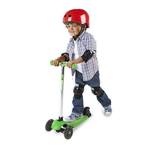 Yvolution Official – Y Glider Neon Green – High Quality Kids Scooter