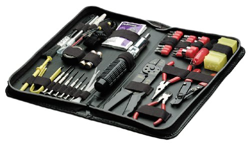 Fellowes 55-Piece Computer Tool Kit, Black (49106) (Laminate Chip Repair Kit compare prices)