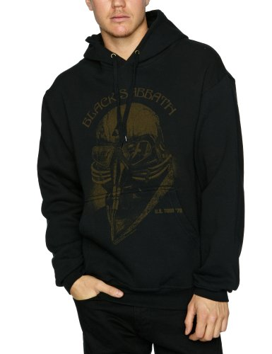 Bravado Sabbath Us Tour 78 Men's Sweatshirt Black Small
