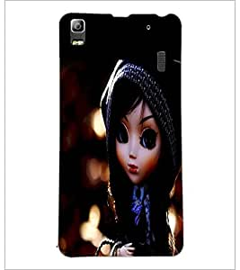 PrintDhaba Cute Doll D-1044 Back Case Cover for LENOVO K3 NOTE (Multi-Coloured)