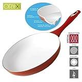 ORYX 5023005Keramik Pfanne für Induktionsherd,, 28 cm