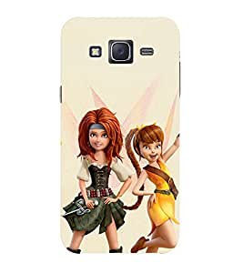 Doyen Creations Printed Back Cover For Samsung Galaxy J1