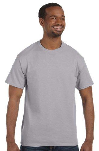 Hanes Men's Tagless T-Shirt (Oxford Grey) (2X-Large)