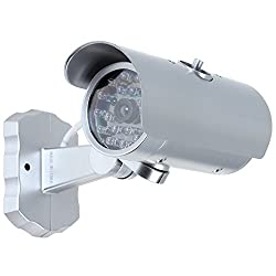 SahiBUY Realistic Looking Motion Detection Wireless Security Fake Dummy Camera