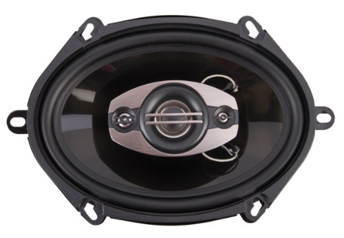 Power Acoustik Cf-573 240 Watt 5 X 7 Inches 3-Way Full Range Car Speakers - Set Of 2