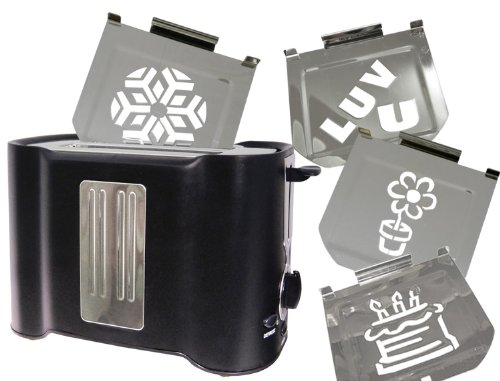 Retro Family Fun 4-image Toaster (Toaster With Images compare prices)