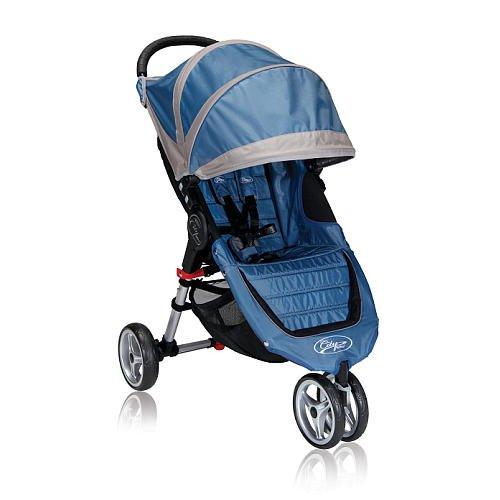 Baby Jogger City Mini Single Stroller Blue/Gray