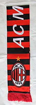 AC Milan Light Weight Polyester Soccer Scarf