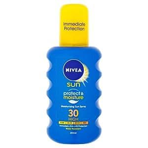 Nivea Sun Protect and Moisture Moisturising Sun Spray High SPF 30 - 200 ml