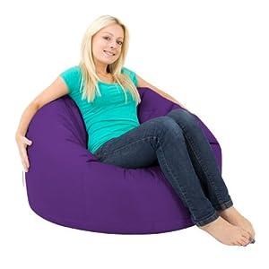 Bean Bag Bazaar® Panelled XL Bean Bag Chair Indoor/Outdoor - Extra Large Bean Bags by Bean Bag Bazaar®