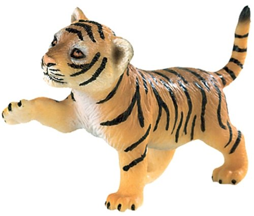 Bullyland Deluxe Wild Animals: Brown Tiger Cub