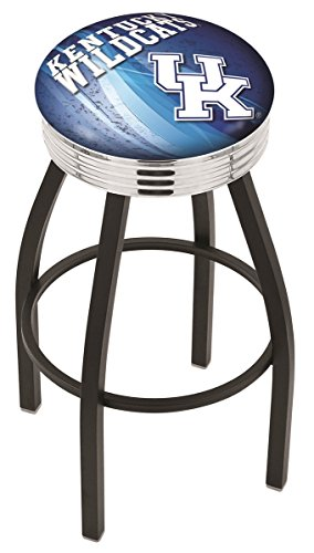 Holland Bar Stool Officially Licensed L8B3C Anaheim Ducks Swivel Bar Stool, Chrome, 30""