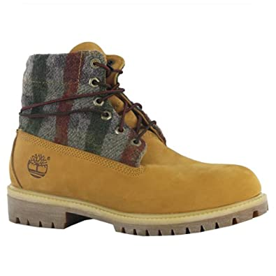 Timberland Roll Top Wheat Mens Boots Size 11.5 US