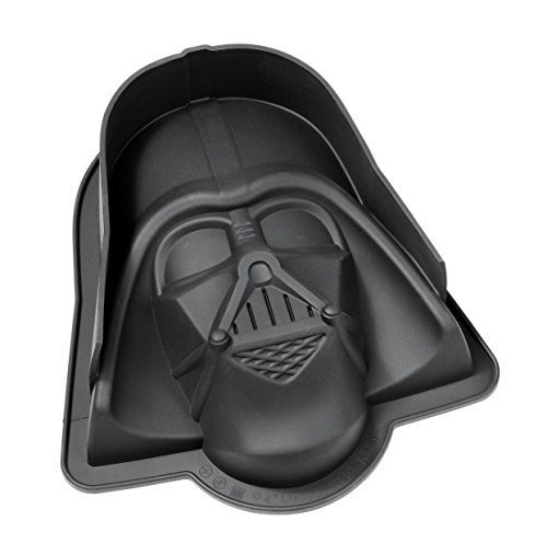 STAR WARS 20566 Darth Vader, Stampo in silicone nero, 23 x 20 x 6,7 cm