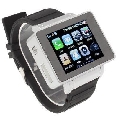 2012 Newest Multifunctional 1.8 Inch Touch Screen Watch Cell Phone
