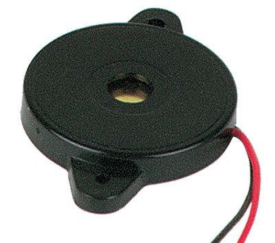 Audio Indicator And Alerts Transducer Piezo 1.5Ma 5Vac Wire Lead Panel Mount