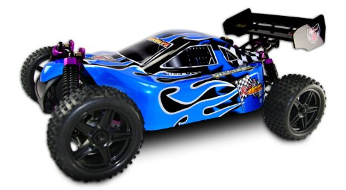 RC Car Shockwave 1/10 Scale Nitro RC Buggy