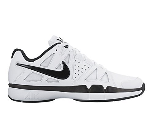 New Nike Men's Air Vapor Advantage Leather Tennis Shoe White/Black 11 (Nike Mens Air Vapor Advantage compare prices)