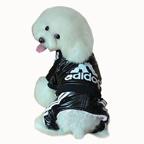 Adidog Regenjacke, Sport Hund Kleidung, Hundekleidung, Hundemantel