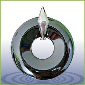 Zero Point Global Pendant - Hematite 5 ounces