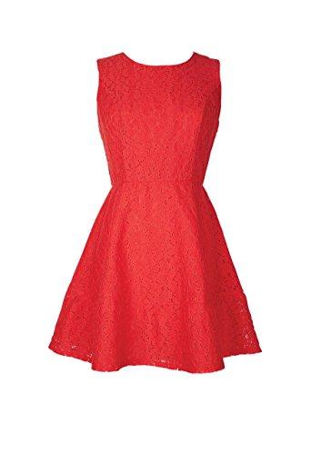 Delia*S Juniors Lace Tank Dress Xs Hibiscus