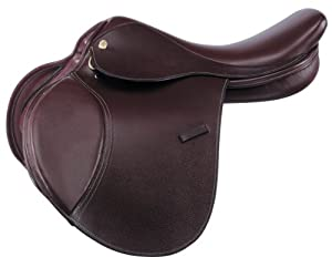 Kincade Wide Childrens Leather Close Contact Saddle