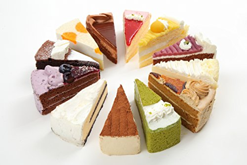 平日15時までのご注文で即日発送! 人気ランキング1位 バースデーケーキ 12種類のパーティーケーキアソート 7号 直径21.0cm (約6~12名) Quebec ケベック