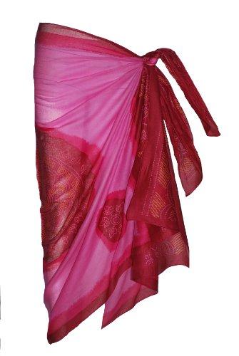 Pink Sarong with Bandana Design