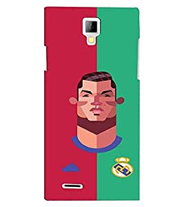 PRINTVISA Football Champion Madrid Case Cover for Micromax Canvas Xpress A99