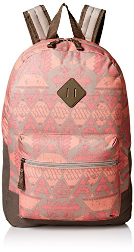 Trailmaker Big Girls Printed Backpack, Coral, One Size