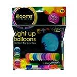 Leuchtende Led Luftballons Set mit 15...