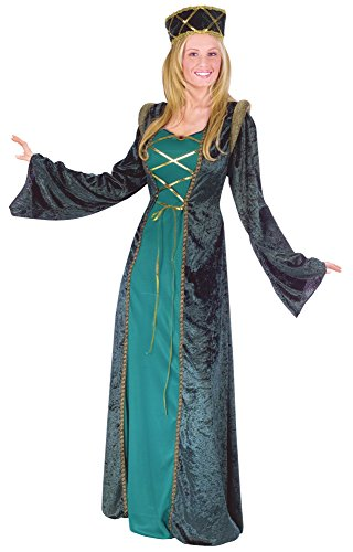 Lady in Waiting Adult Costume - Renaissance - Size:Medium/Large