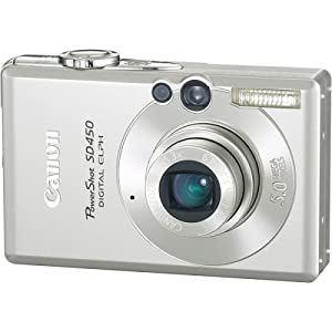 Canon Powershot SD450 5MP Digital Elph Camera with 3x Optical Zoom