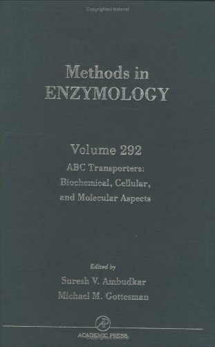 Abc Transporters: Biochemical, Cellular, And Molecular Aspects, Volume 292 (Methods In Enzymology)