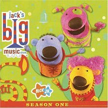 Jack's Big Music Show: Season One CD Soundtrack by Nick Records (Jacks Big Music Show Toys compare prices)