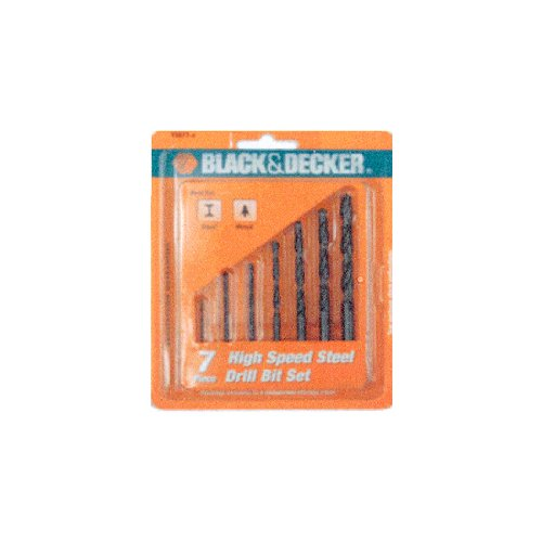 B&D 7EA Metal Drill Bit (Black And Decker Metal Cutter compare prices)