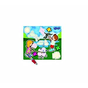 2 X TOMY Learn Your Colours Aquadoodle Mini Mats