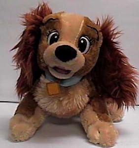 "Amazon.com: Disney Lady & the Tramp 12"" Lady Plush Doll"