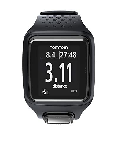 TomTom Orologio Con Gps Runner Gps Watch (Total Black)