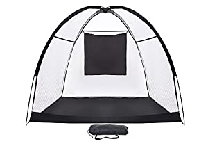 Golf Practice and Driving Net Portable with Carrying Case - 4-Ply Mesh by Trademark Innovations