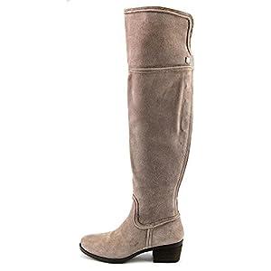 Vince Camuto Baldwin Women US 11 Gray Over the Knee Boot
