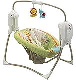 Fisher Price Baby Gear BFH05 - Altalena Salva Spazio Cuccioli della Natura