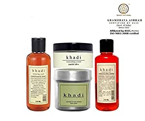 Khadi Sandalwood Total Body Care Combo (Set of 4)