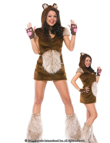 Teddy Bear Girl Md Lg Halloween Costume