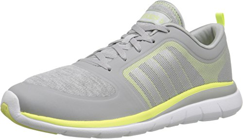 Adidas NEO Women's X Lite TM W Lace Up Shoe, Clear Onix/Matte Silver/Frozen Yellow, 8.5 M US
